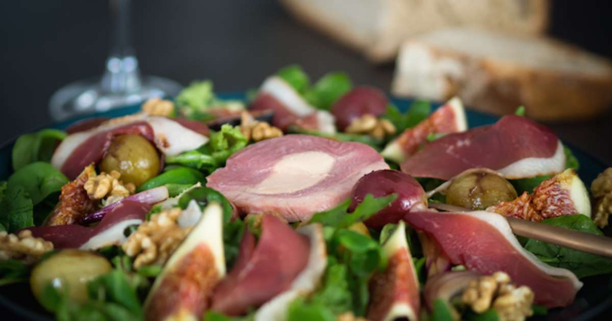 Recettes de foie gras et de salade