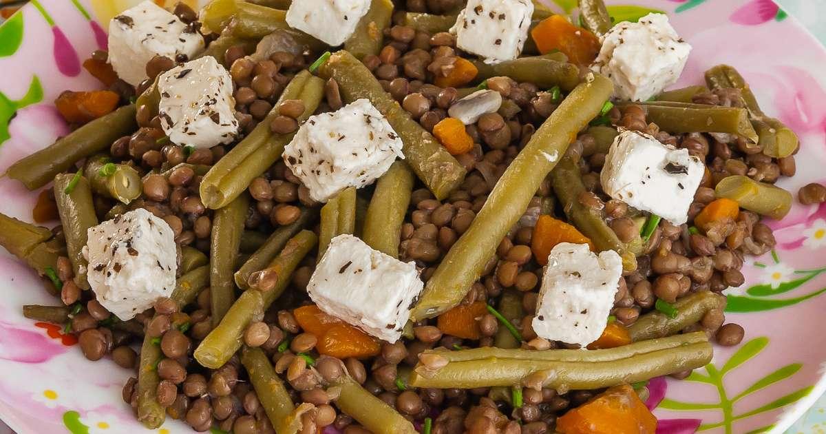 recettes de haricots verts et d'oignons