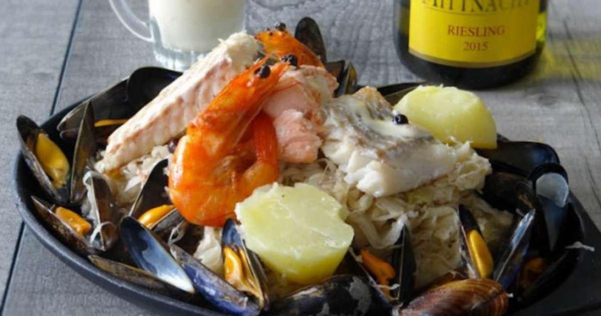 Choucroute aux poissons alsacienne la cuisine d 39 adeline - Recettes cuisine alsacienne traditionnelle ...