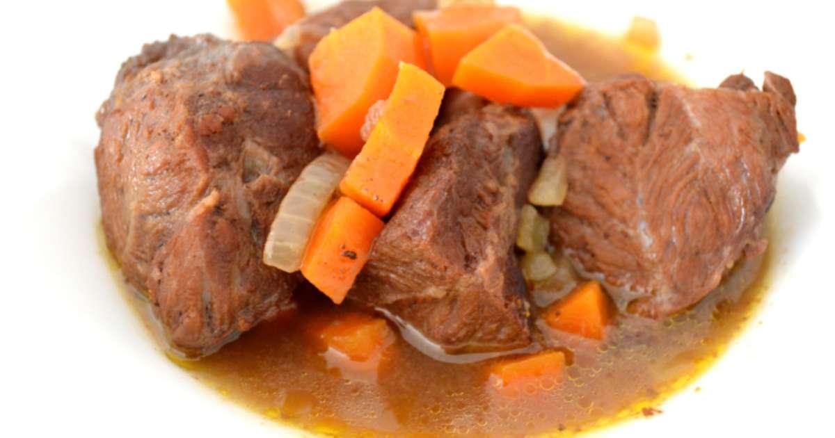 Joues de porc au cidre et aux pices recette par plaisir - Cuisiner de la joue de porc ...