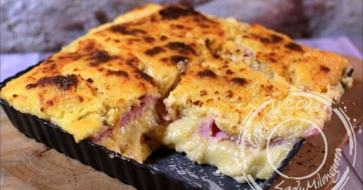 gratin de polenta fa on croque monsieur sans gluten. Black Bedroom Furniture Sets. Home Design Ideas
