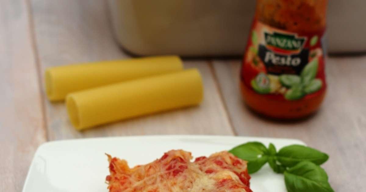 Cannelloni au thon et pesto rosso recette par amandine cooking - Cuisine italienne cannelloni ...