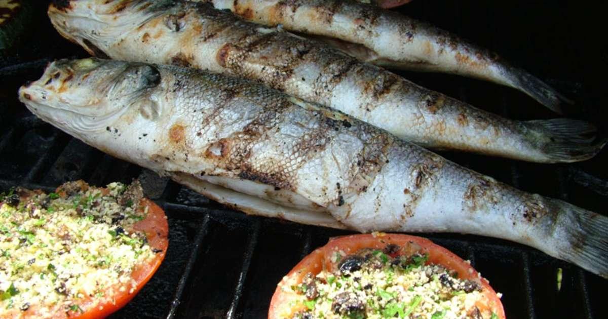 Poisson au barbecue recette par recettes du chef - Cuisiner le bar ...
