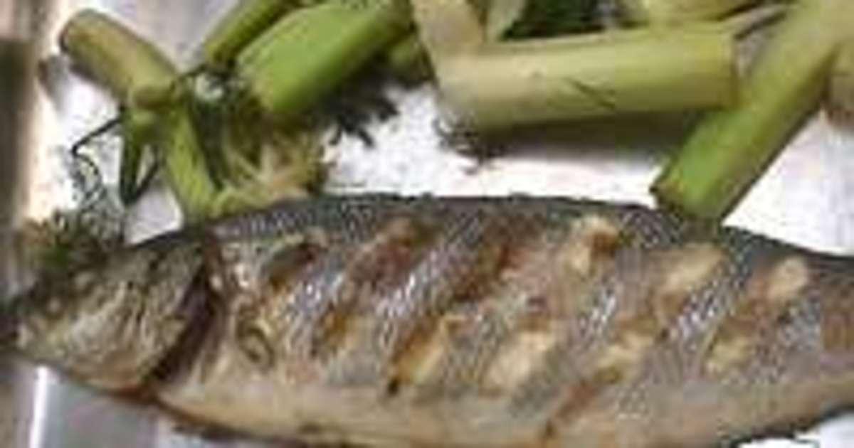 Bar ou loup grill recette du bar grill au fenouil et flamb au pastis recette par chef simon - Cuisiner le bar ...