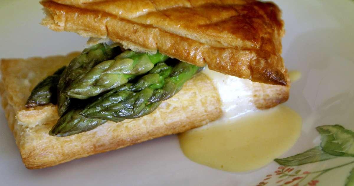 Feuillet s d 39 asperges vertes sauce mousseline recette de feuillet s d 39 asperges vertes - Cuisiner les asperges vertes ...