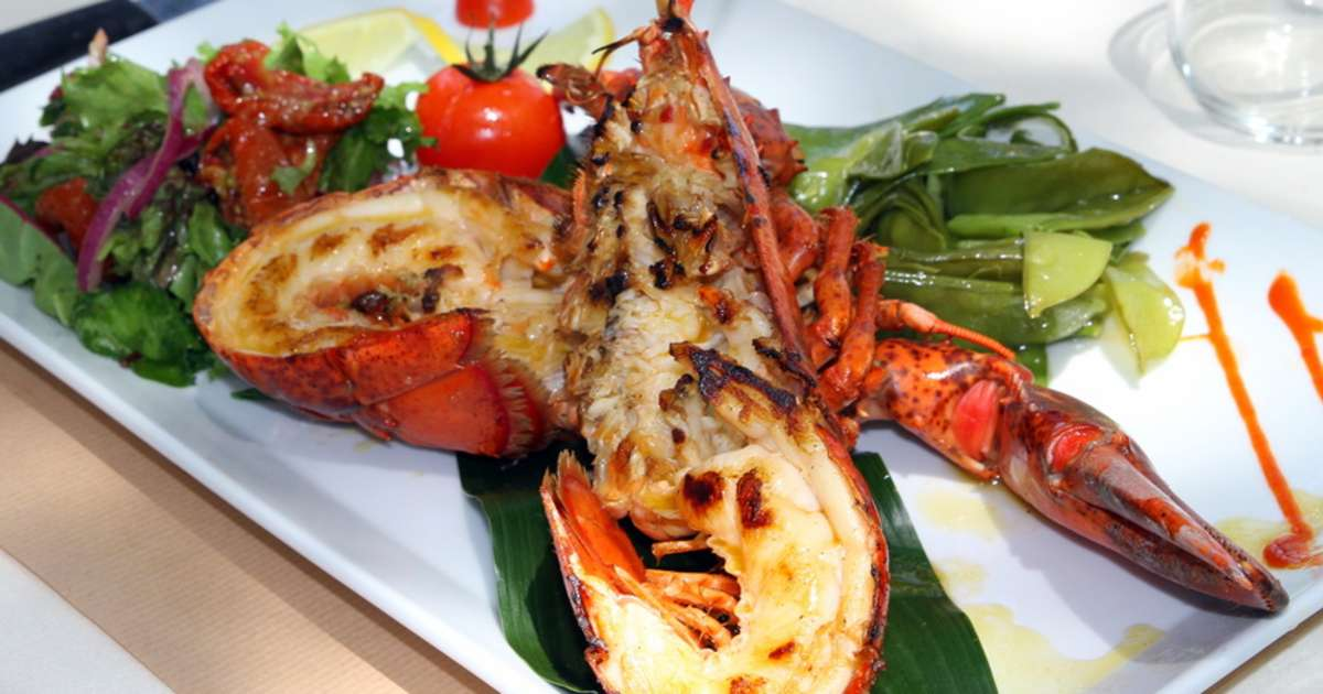 Homard thermidor recette du homard thermidor partie 1 for Cuisine ouverte guadeloupe
