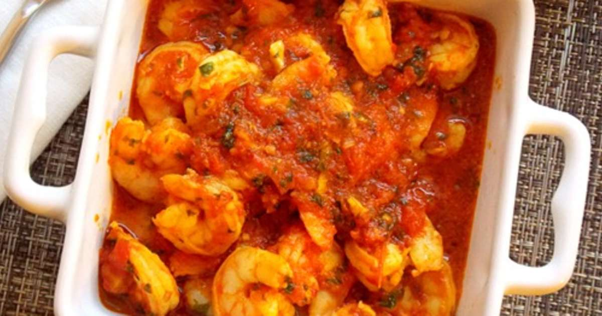 Crevettes sauce tomate orientale recette par mes for Entree chaude original