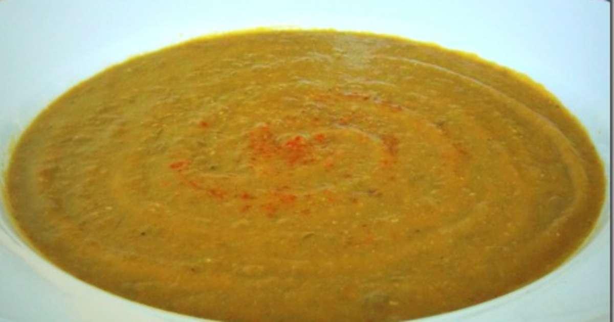 soupe aux lentilles et carottes recette par mes inspirations culinaires. Black Bedroom Furniture Sets. Home Design Ideas