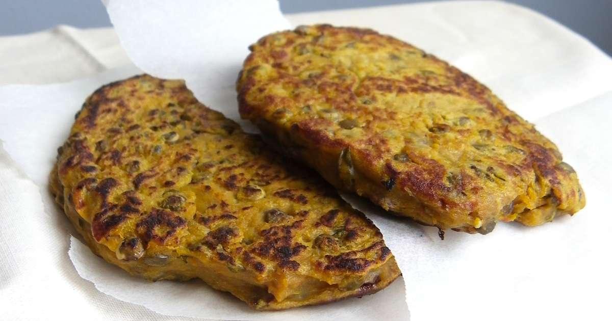 Galettes de patate douce et lentilles vertes recette par - Cuisiner les lentilles vertes ...