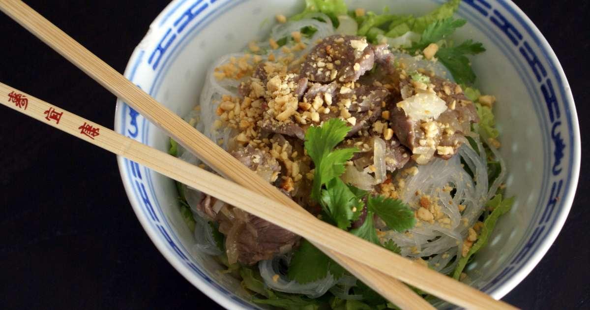 Bo bun recette de bo bun de la cuisine vietnamienne for Cuisine quotidienne