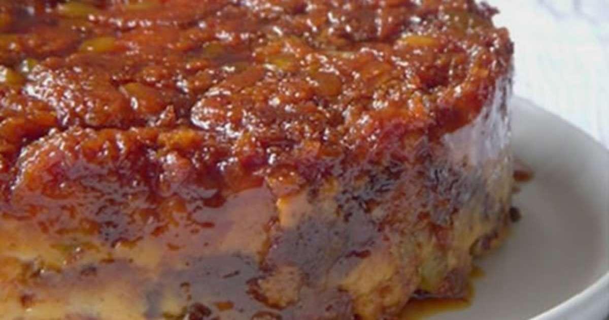 Pudding au pain de no l recette par cuisine portugaise - Recette de cuisine portugaise avec photo ...
