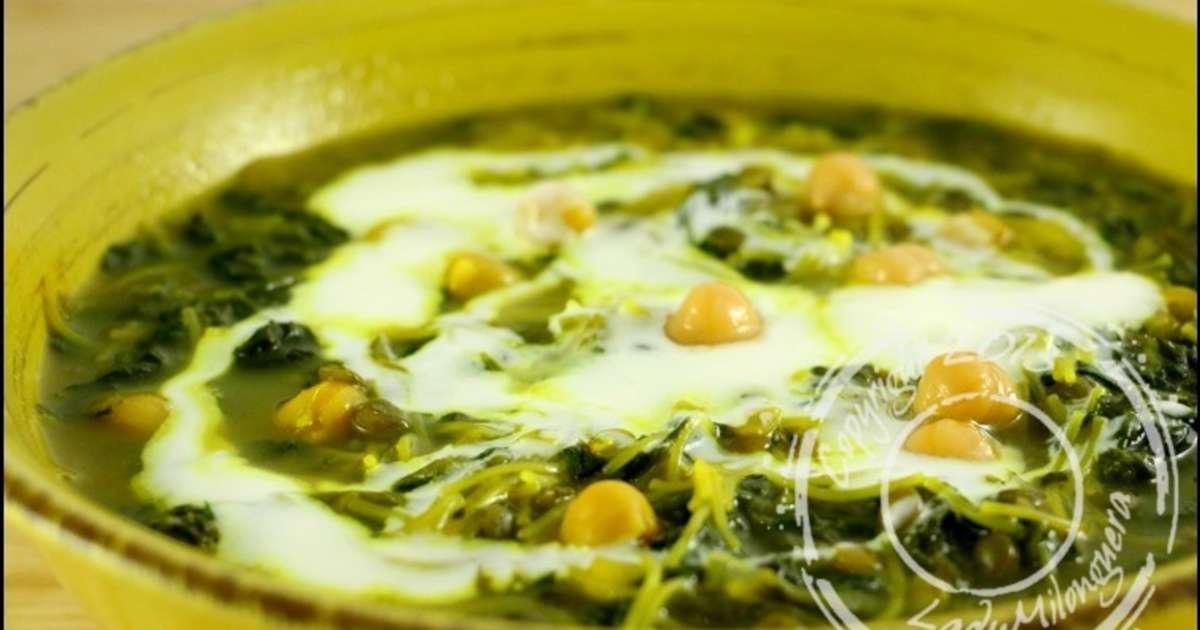 Soupe Iranienne Aux épinards Recette Par LadyMilonguera - Cuisine iranienne