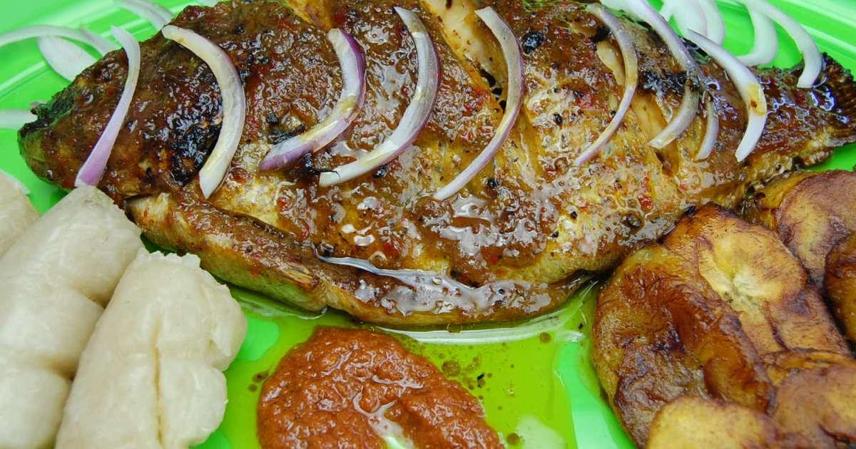 Tilapia au four recette par tchop afrik 39 a cuisine for Africaine cuisine