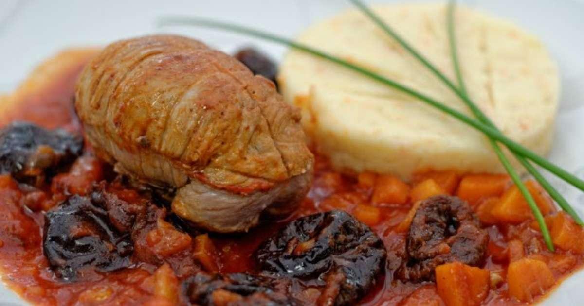 Paupiettes de veau aux pruneaux et aux noix recette par - Cuisine paupiette de veau ...