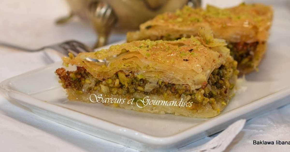 recettes de pâtisserie orientale et de cuisine libanaise