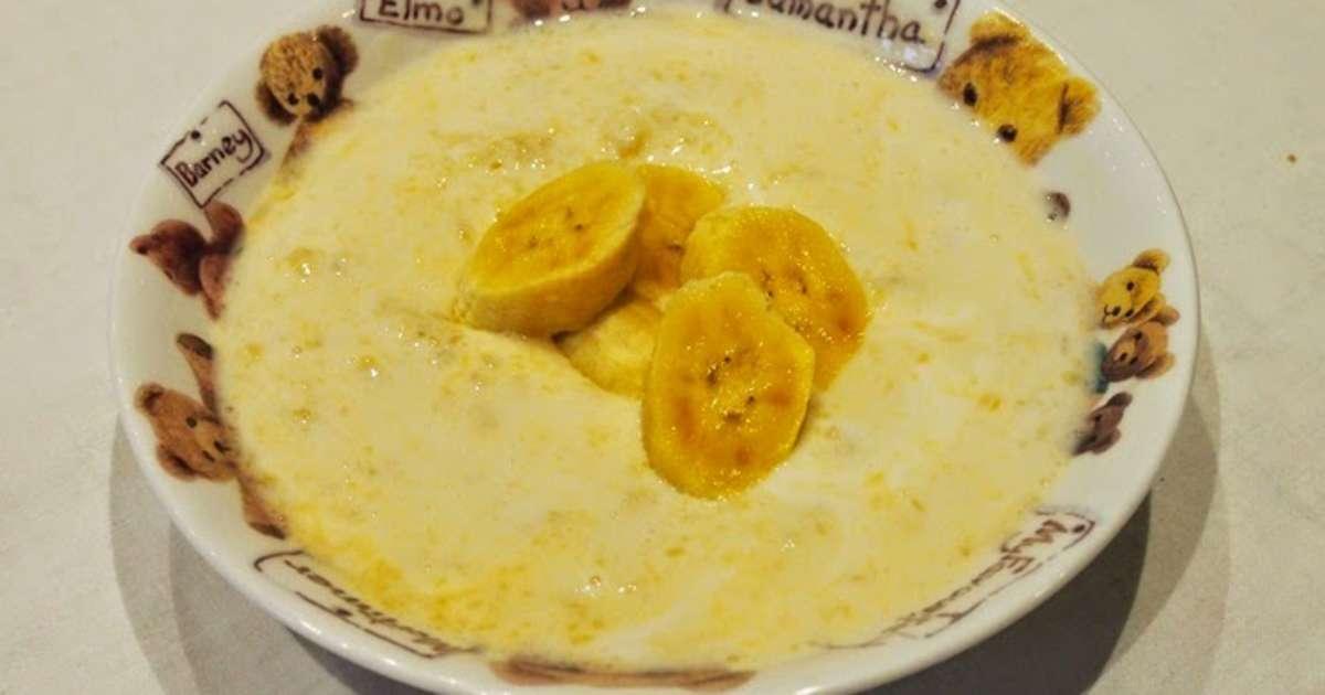 dessert au yaourt banane et jus d orange recette par schotzy
