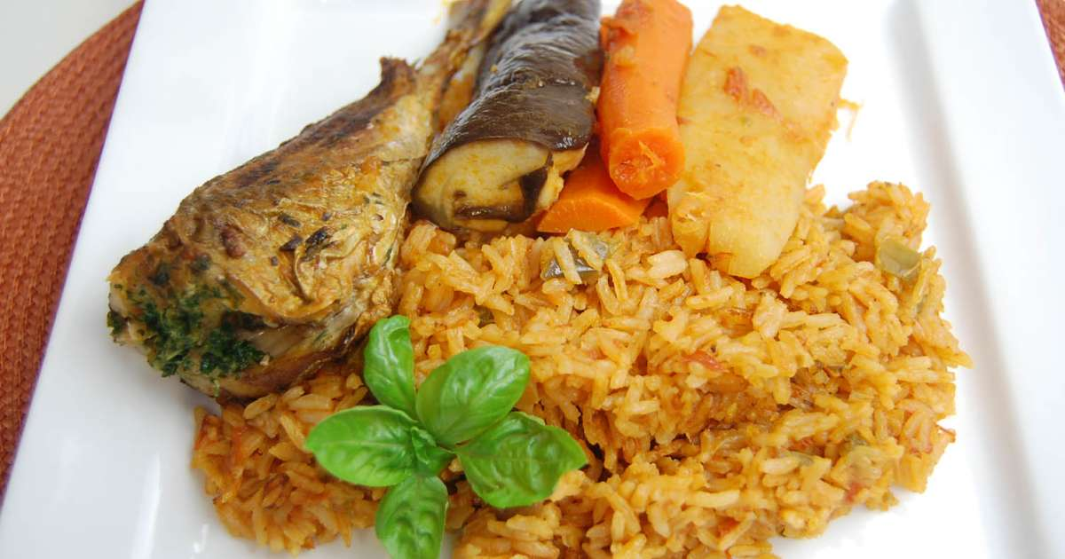 Riz au gras thieboudienne afrique de l 39 ouest recette - Specialite africaine cuisine ...