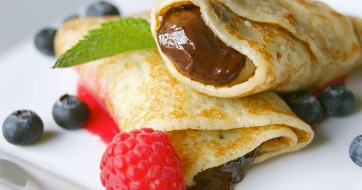 P te cr pes gourmandes pour dessert sucr suggestions d 39 ar mes recette par cuisine maison - Recette crepe gourmande ...