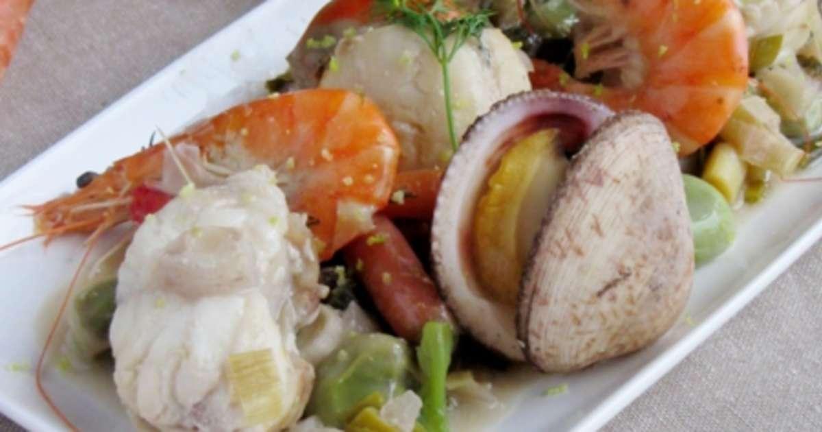Blanquette de la mer recette par il tait une recette - Comment cuisiner une blanquette de veau ...