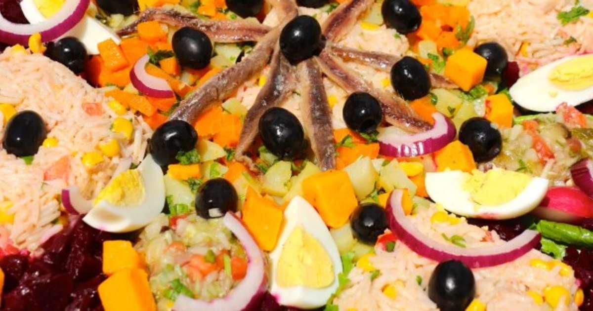 recettes de salade ni oise id es de recettes base de salade ni oise. Black Bedroom Furniture Sets. Home Design Ideas