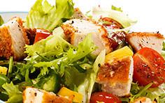Chicken Crunchy Salat