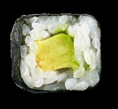 Avocado Maki  (6 Stück)