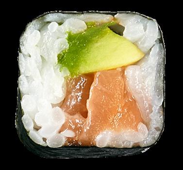 Sake Avocado Maki (6 Stück)