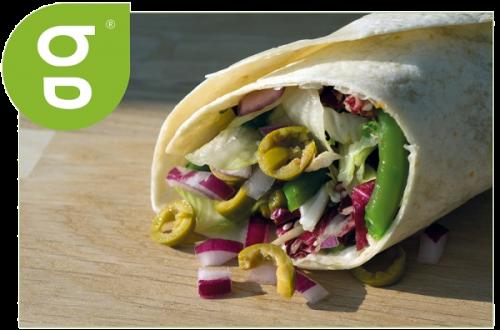 Wrap Vegi (373 kcal)