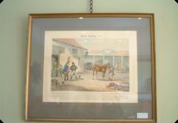 horse dealing print