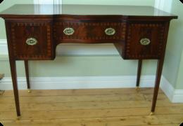 Edwardian desk or dressing table