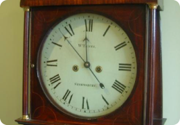 Shrewsbury longcase clock
