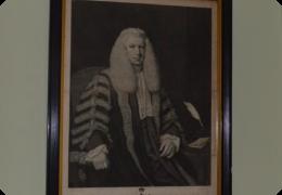 Georgian framed engraving of Lord Kenyon