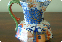 Early Davenport Ironstone Hydra jug