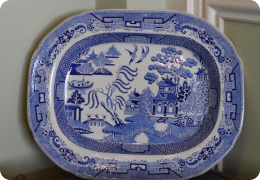 Victorian Ironstone meat plate