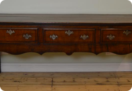 Georgian Oak dresser base