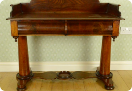 Victorian Mahogany wash stand/side table