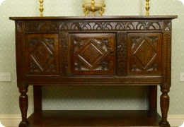 late 17th century court cupboard