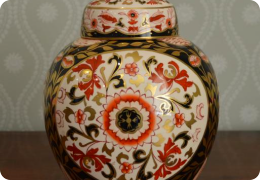 Masons chinoiserie ginger jar
