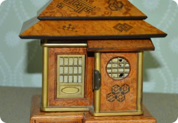 Japanese tea house jewellery box, C1920