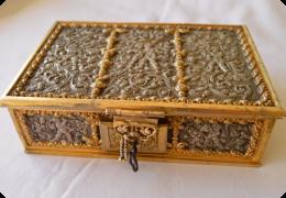 Erhard & Sohne jewellery casket.