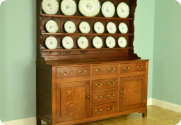Georgian Oak North Wales Dresser