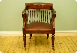 Rosewood Library Chair