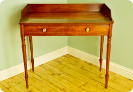 Georgian Inlaid Mahogany Side Table