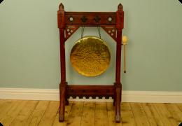 Victorian Floor Standing Gong