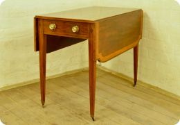Regency mahogany Pembroke table