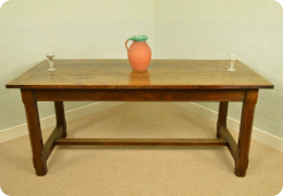 19th Century Oak Refectory Table