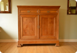 French Farmhouse Oak Cabinet