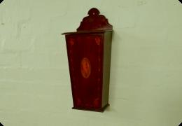Edwardian Inlaid Candle Box