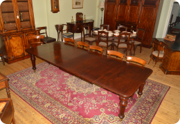 Cuban Mahogany 19th Century Dining Table