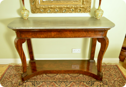 19th Century Mahogany Console table